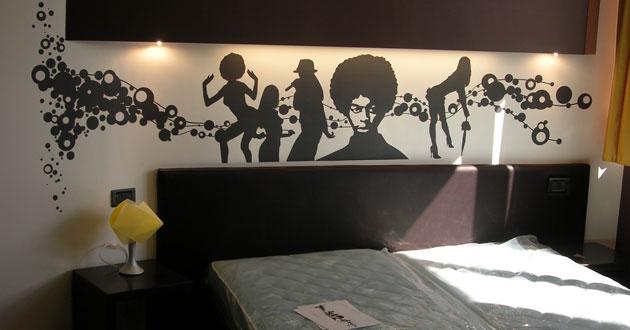 Affresco digitale per decorare muri chiese negozi - Decorazione muri interni ...