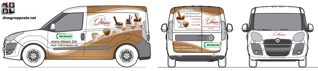 Conosciuto Car Wrapping Roma - Decorazione Automezzi Adesivi Auto  VF03