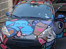 Decorazione Veicoli - Wrapping Totale Ford KA Britto 2