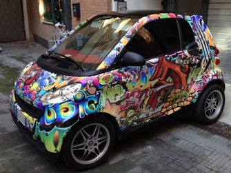Wrapping Totale Smart - Stampa personalizzata graffiti