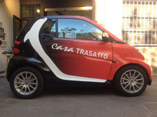 Wrapping con stampa personalizzata su Smart