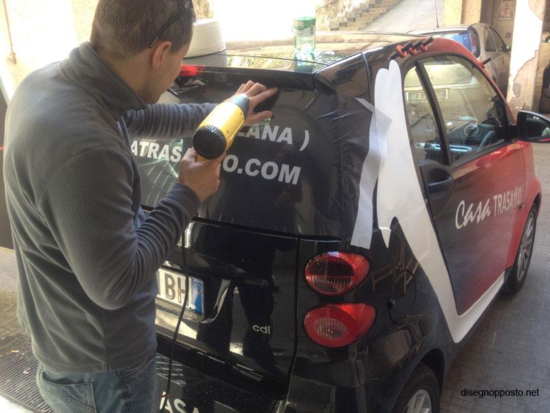 Estremamente Car Wrapping Roma - Decorazione Automezzi Adesivi Auto  NZ88